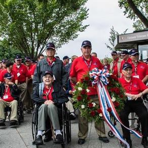 2016 Texas South Plains Honor Flight: Vietnam War Memorial