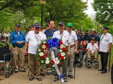 2017 Texas South Plains Honor Flight: Korean War Memorial (Part 1)