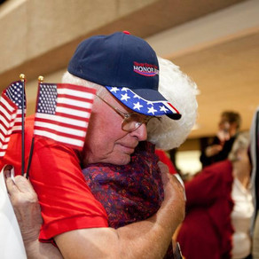 2014 Texas South Plains Honor Flight: Welcome Home (Part 1)