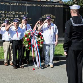 2016 Texas South Plains Honor Flight: Marine Memorial