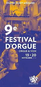 """9èfestival """"Orgue et Voix"""" de Brunoy"""