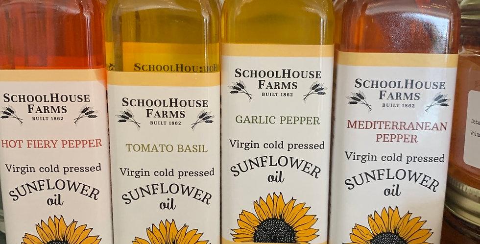 Schoolhouse Farms Infused Sunflower Oils