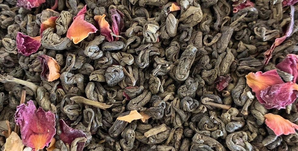 Gunpowder & Rose Green Tea