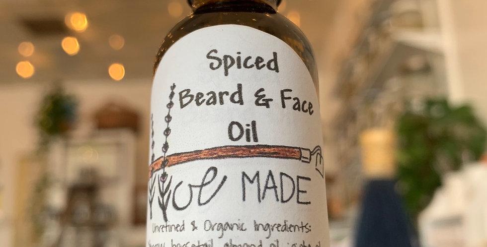 Spiced Beard & Face Oil by HoeMade