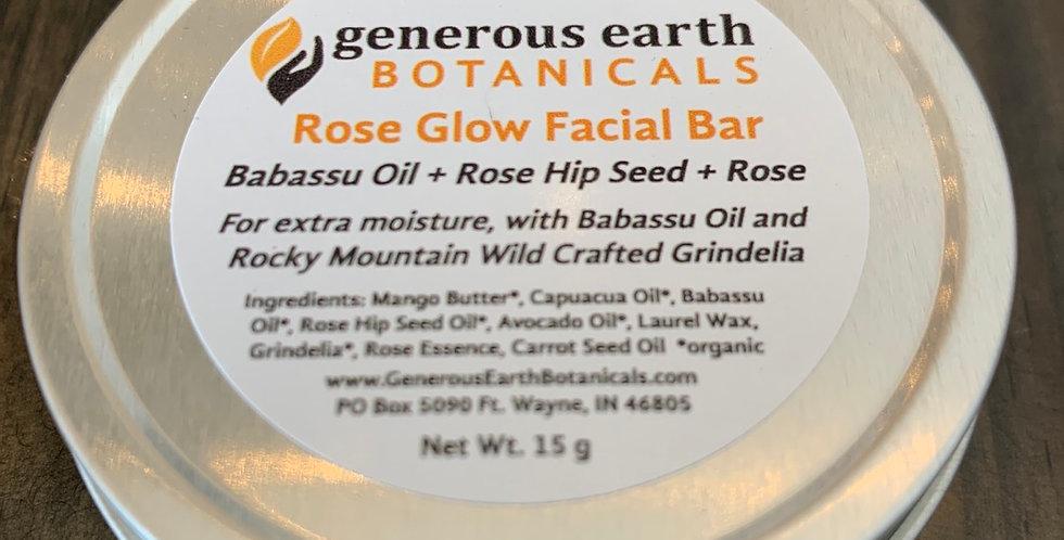Rose Glow Facial Bar by Generous Earth