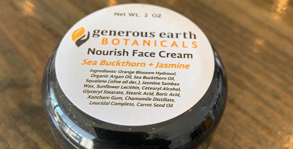 Nourish Face Cream by Generous Earth