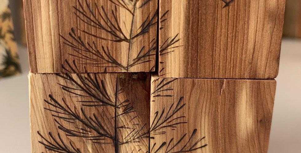 Hontz Family Wooden Block Puzzle