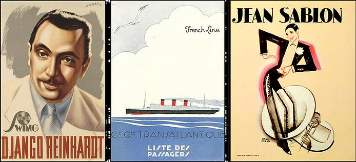 Jean Sablon / Affiches