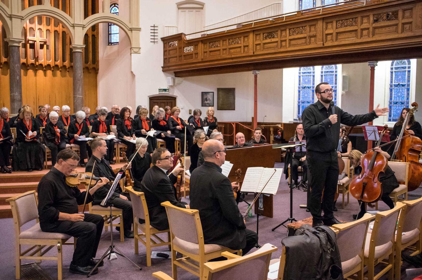 12 Nov 2016 - Exploring Handel at Warwick Rd URC, Coventry