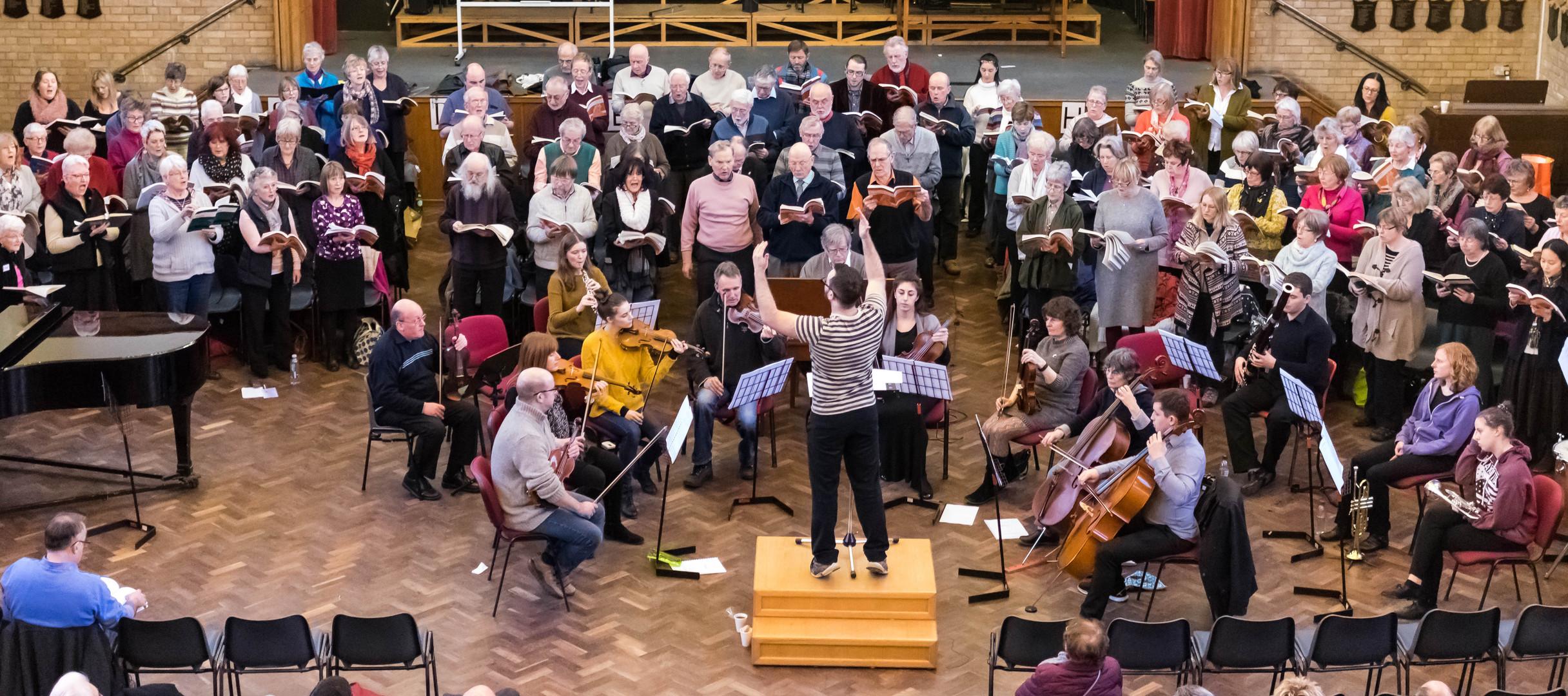 January 2016 - Play & Sing, Handel's Messiah