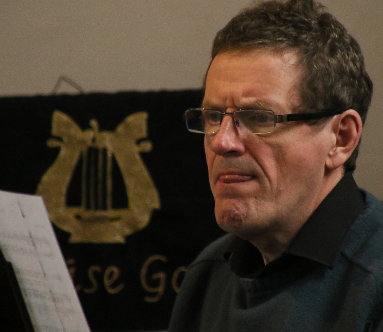 A Concentrating Accompanist