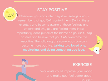 Ways To Improve Your Mental Health (Infographic)