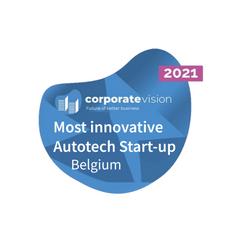 Most Innovative AutoTech Startup Belgium - 2021
