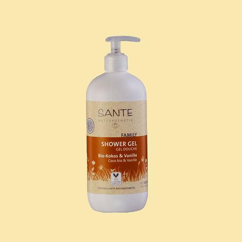 Gel douche vanille et coco BIO - Sante Naturkosmetik