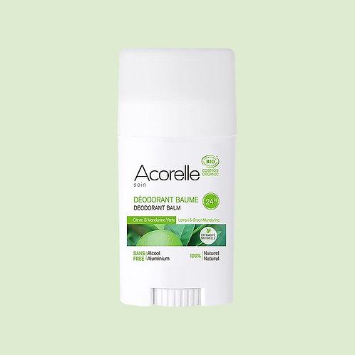 Déodorant baume Citron Mandarine verte BIO - Acorelle