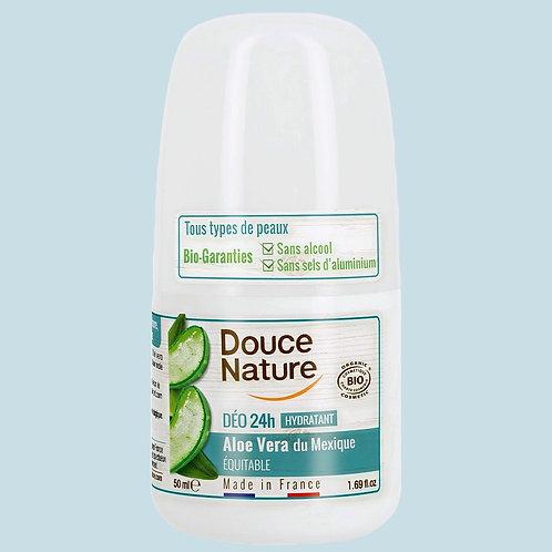 Déodorant hydratant Aloe Vera 24h - Douce Nature