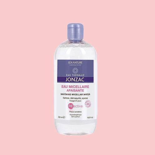 Reactive, Eau micellaire peaux sensibles - Flacon 500 ml - Eau Thermale Jonzac