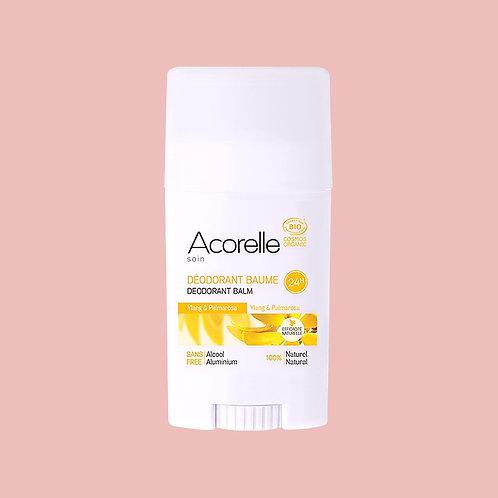 Déodorant baume Ylang Ylang Palmarosa BIO - Acorelle