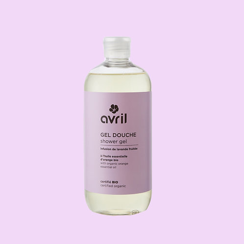 Gel douche Infusion lavande fruitée BIO - Avril