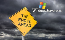 Windows Server 2003 - End Of Life.