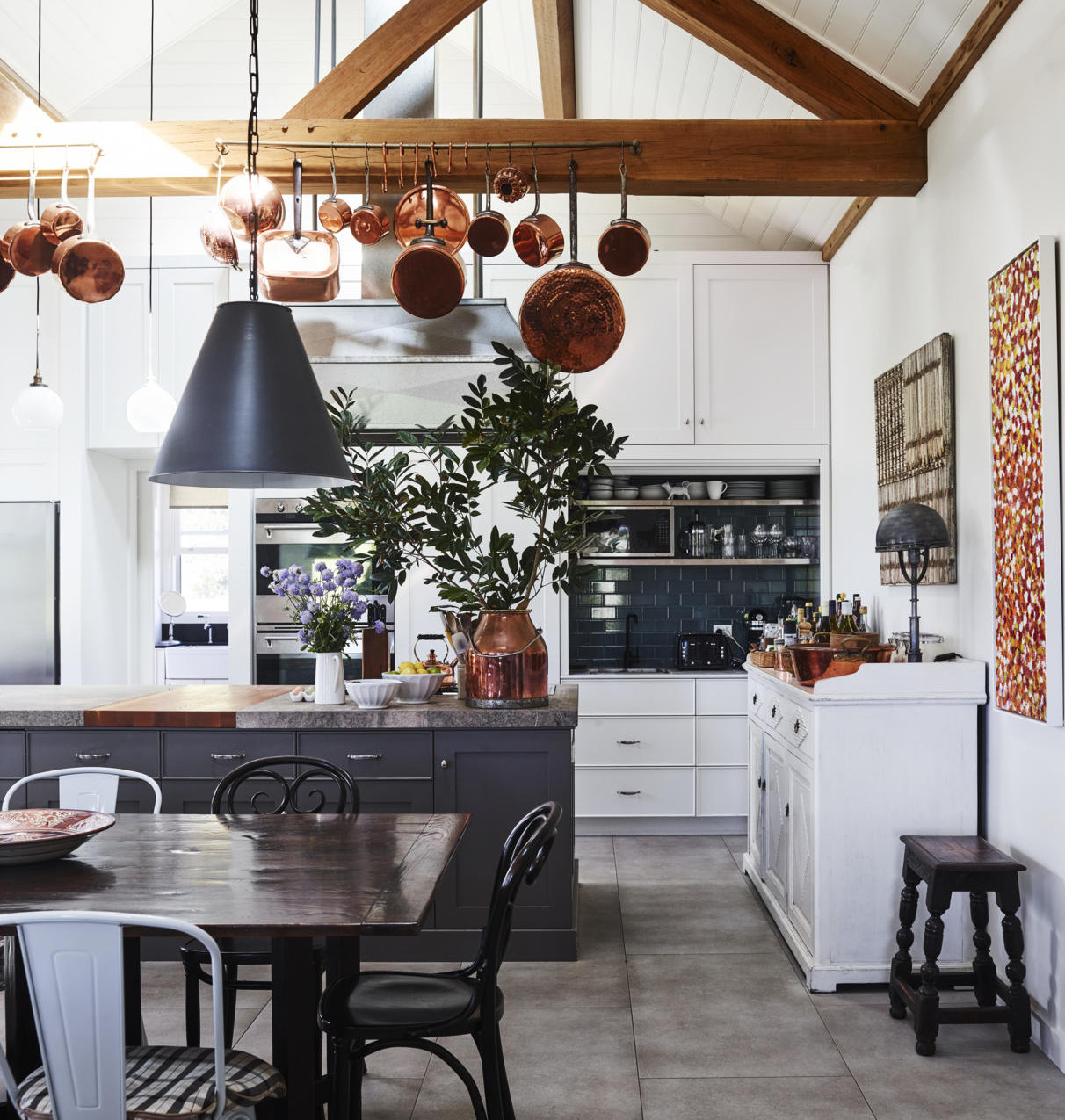 Farmhouse Kitchen and Dining