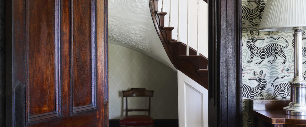Entrance Hall from Dining Room