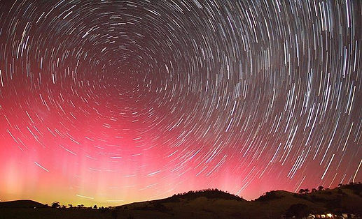 Aurora Australis from Jamberoo