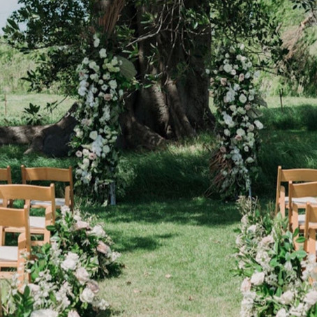 A Springtime Wedding....