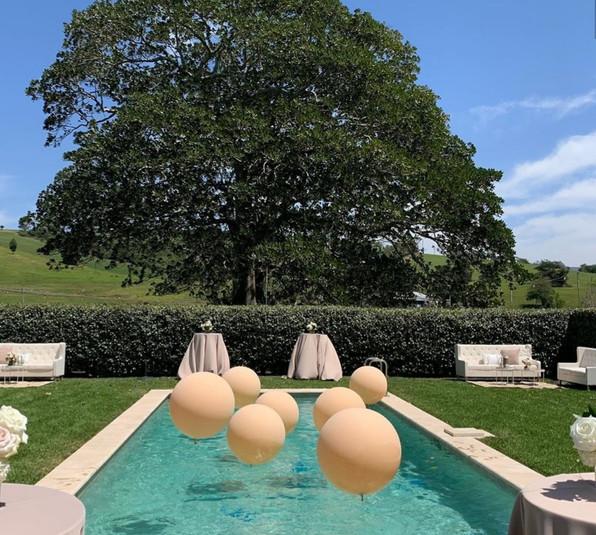 Swimming Pool reception