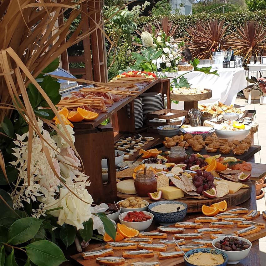 M2 Kitchen grazing table