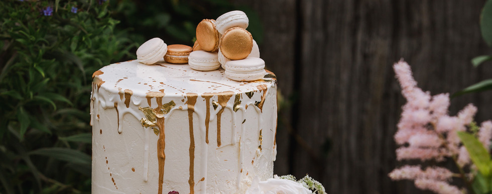 Wedding cake by Rose & Co, styled by Wedding and Event Creators