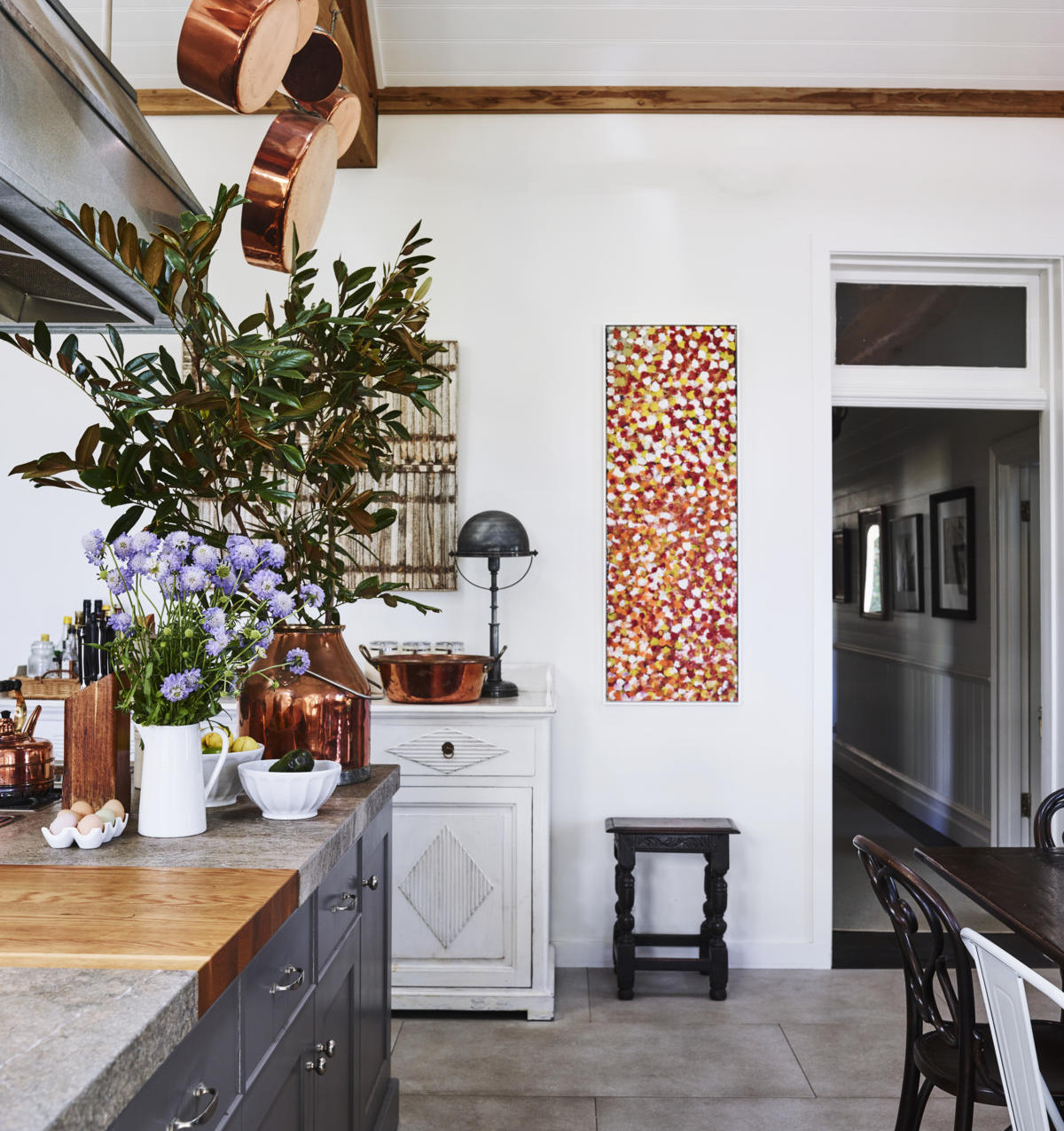 Farmhouse Kitchen and Dining detail