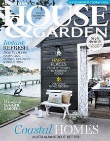 Cover January 2018 Australian House and Garden