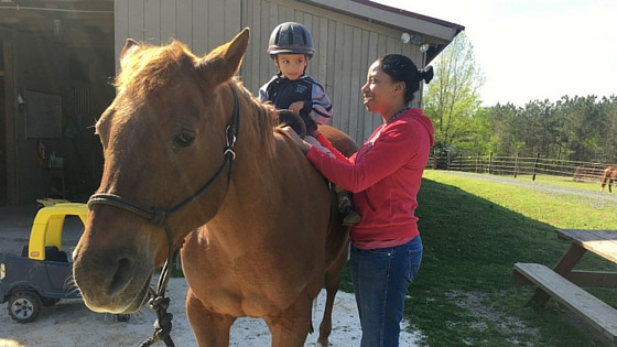 Oak Ranch Equine program was accredited by the Council of Accreditation for Children and Family Services