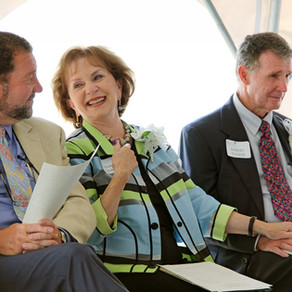 New Outreach Center Breaks Ground, Donor Pledges Additional Funding