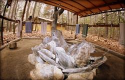 Cameron Boys Camp Washup Tent