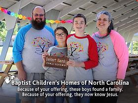 Baptist Children's Homes -Offering 1 - S