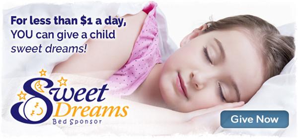 Bed sponsorship for Baptist Children's Homes