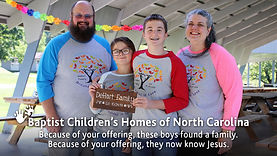 Baptist Children's Homes -Offering 1 - W