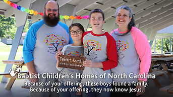 Baptist Children's Homes -Offering 1 - W