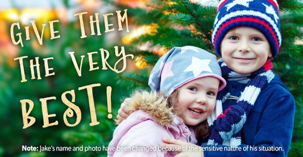 Give them the very best this Christmas at Baptist Children's Homes