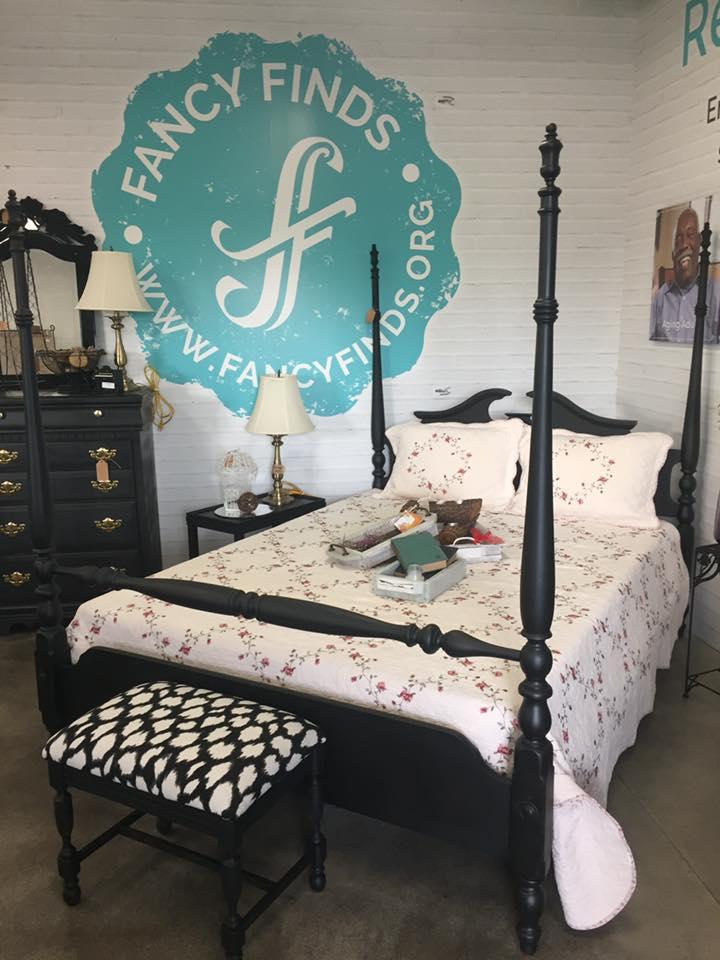 Black bed post