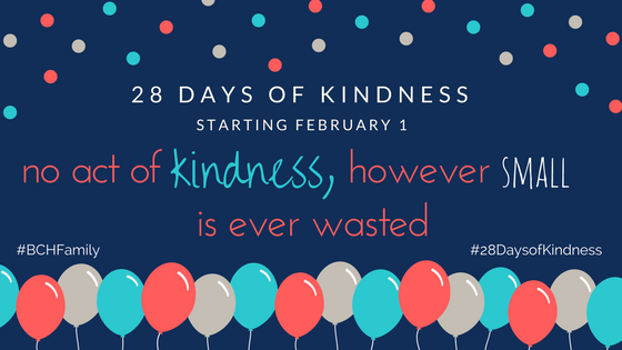 28 Days of Kindness with Baptist Children's Homes