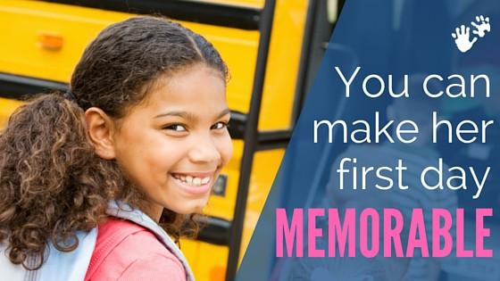 Make back to school memorable