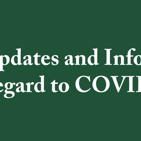 Coronavirus impacts BCH events and engagements
