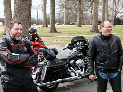 Brian Davis and Rit Varriale are spearheading the Ride to Clyde