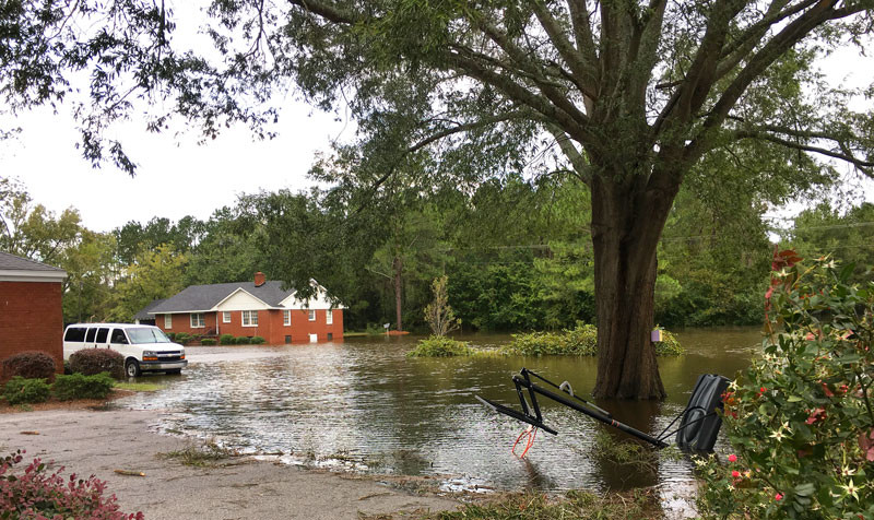 Hurricane Matthew forces evacuation of Kennedy Home