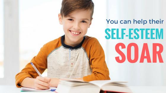 You can help their self-esteem soar! Boys preparing for school