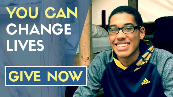 You Can Change Lives - Give Now