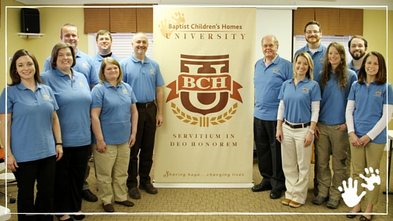 Baptist Children's Homes University inaugural class